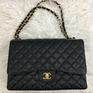 19c4c634cd23 CHANEL Bags | Sac Class Rabat Black Lamb Bag | Poshmark